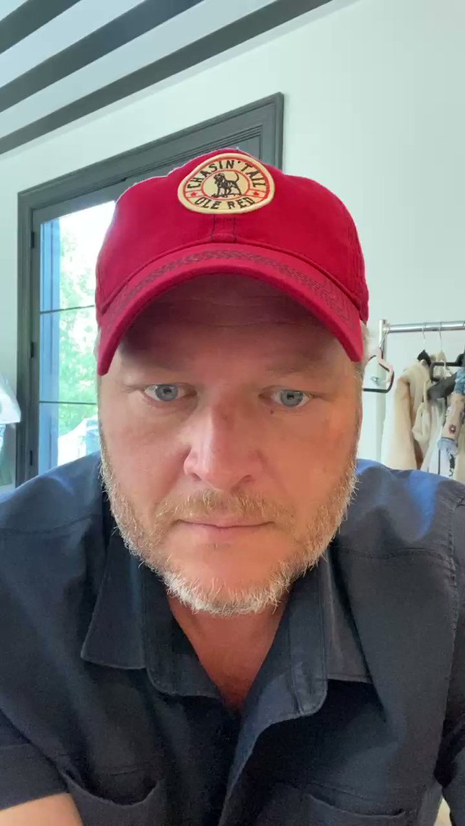 Happy Thanksgiving! We're so thankful for our Ole Red family and for all of you who make this such a fun space to interact on!   Here's a special Thanksgiving message from @blakeshelton to all of our Ole Red family 🐾