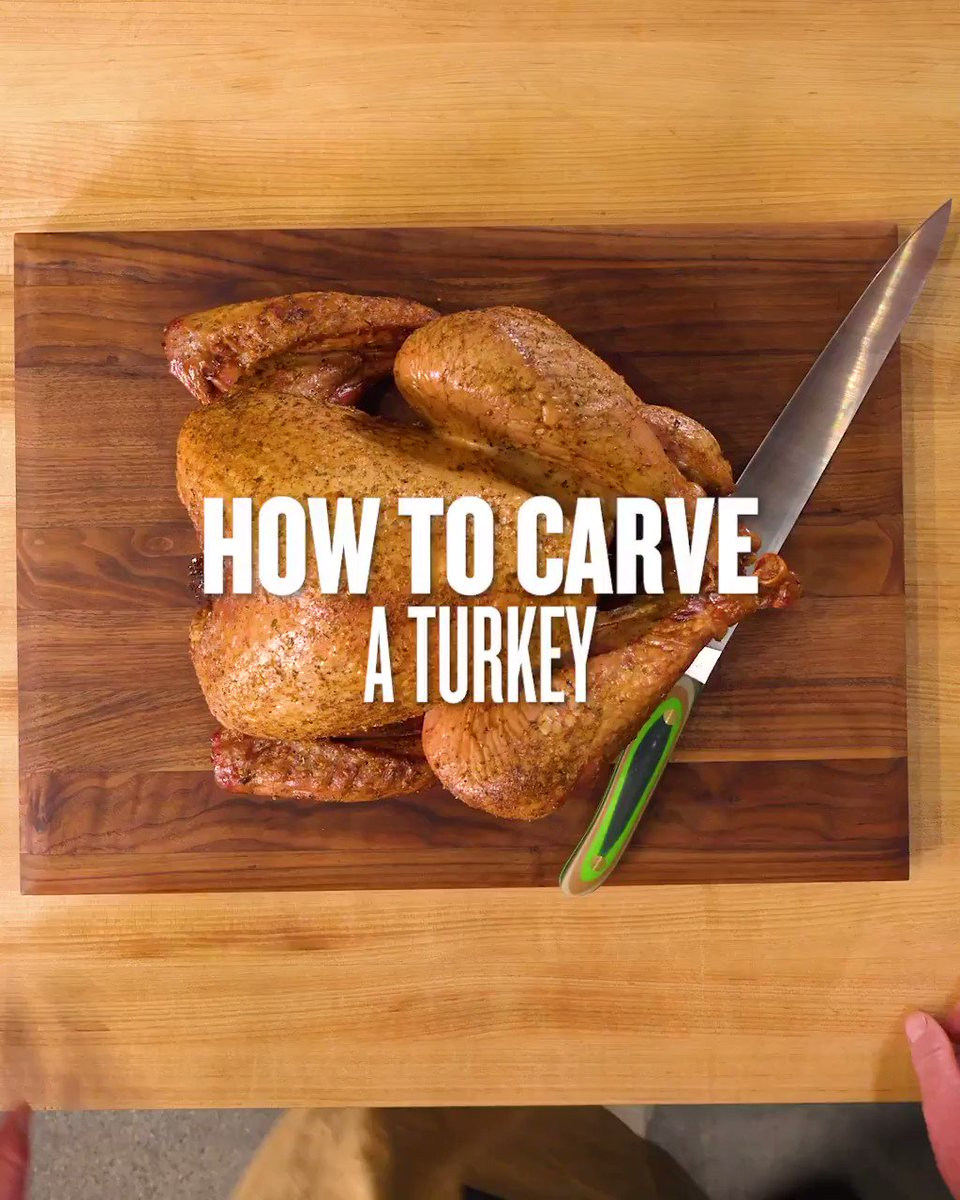 Carve out some time to learn how to slice up that Thanksgiving bird like a pro. https://t.co/5OwLesVtTK