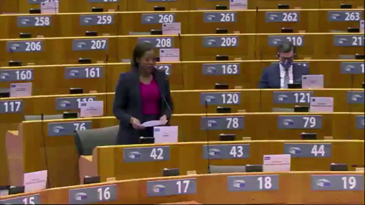 📣Intervention by the Belgian deputy @Assita_Kanko  during #EPlenary on the conflict and breaches of #HumanRights in #Ethiopia▶️