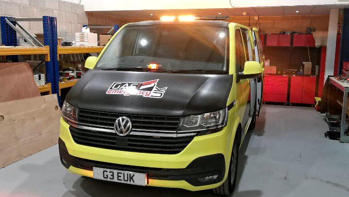 The first @gas999uk trial van gets handed over to our sister company today!