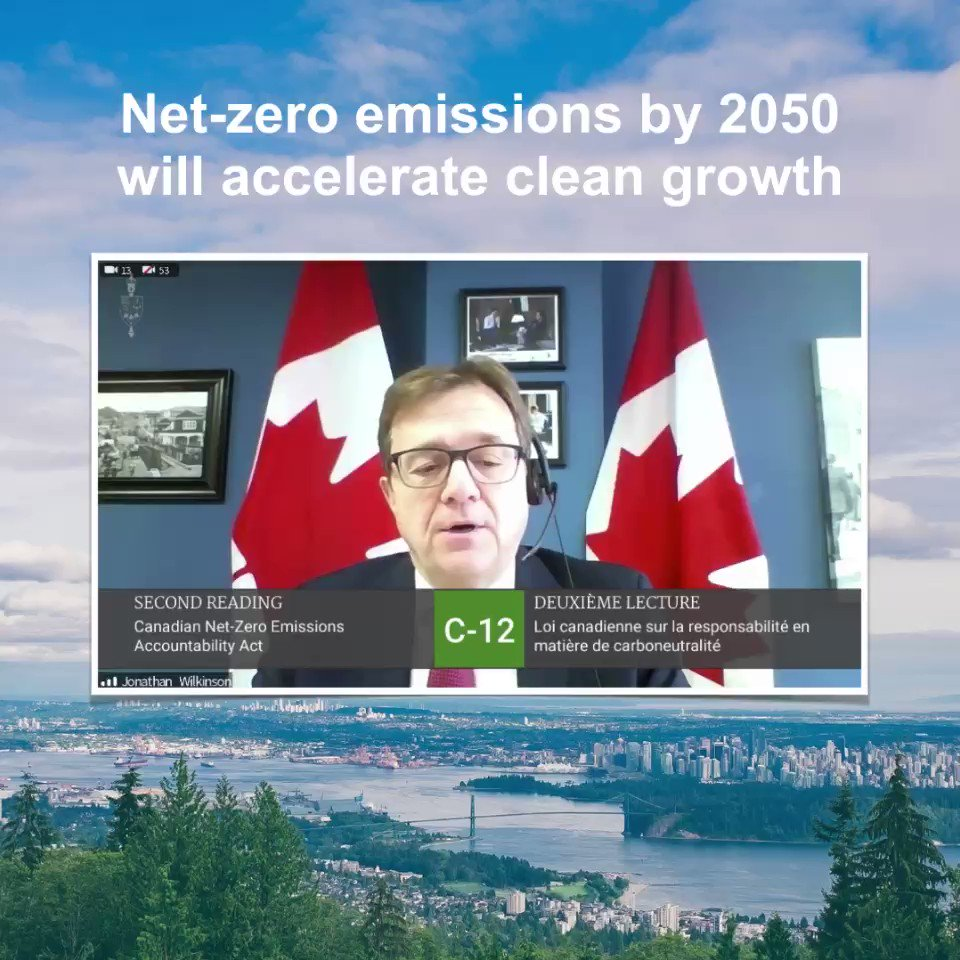 The Canadian Net-Zero Emissions Accountability Act is an important contribution to articulating a Canadian vision for a clean economy. It sends a signal of the depth of our resolve to be a serious competitor in the clean global marketplace and reach net-zero by 2050.
