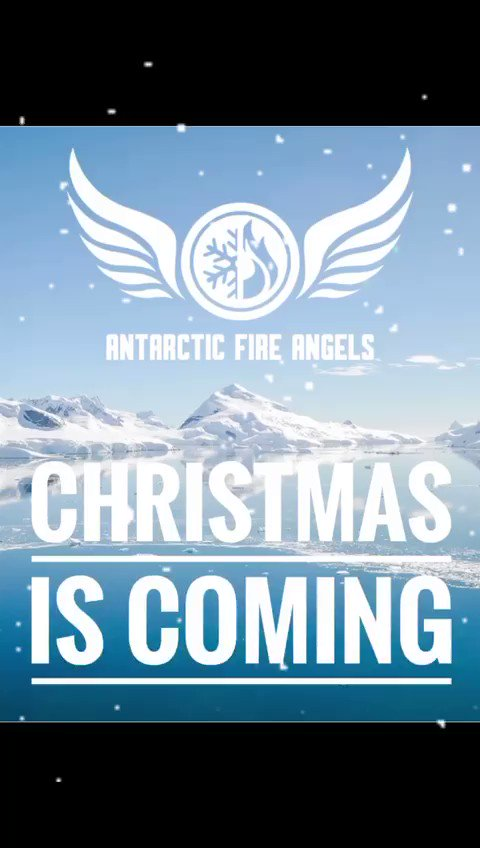 Check this out 👇🏻 #antarcticfireangels #polarexpedition #southpole #christmas #presents
