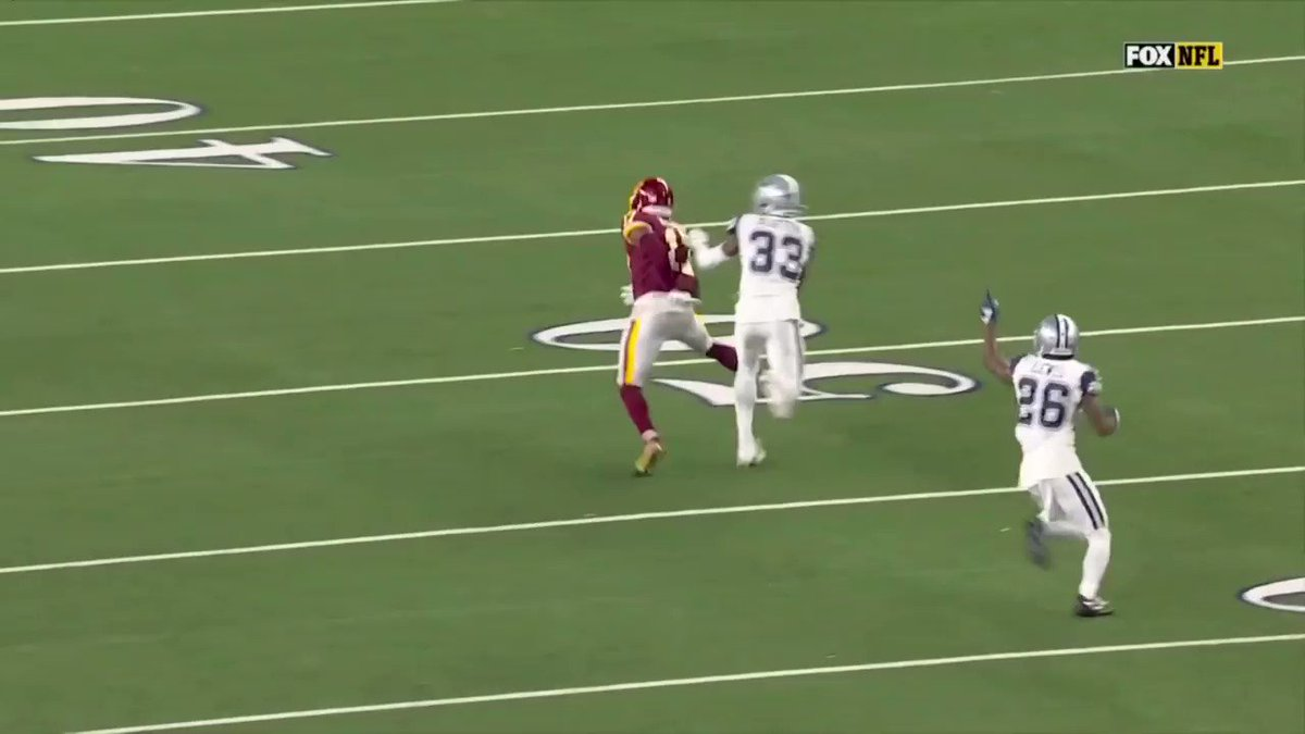 What are you thankful for? Terry McLaurin. #WASvsDAL #Thanksgiving (via @MarkBullockNFL)