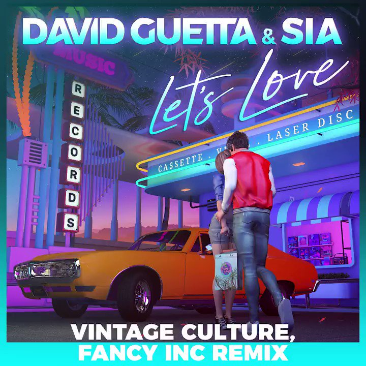Replying to @VintageCulture:   Out now   @davidguetta @Sia @FancyIncMusic
