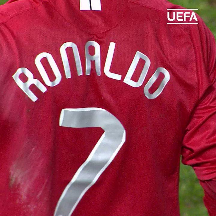 #TalDíaComoHoy hace 1⃣3⃣ años pasó esto...  @Cristiano Ronaldo en estado puro 🤩  #UCL | @ManUtd_Es