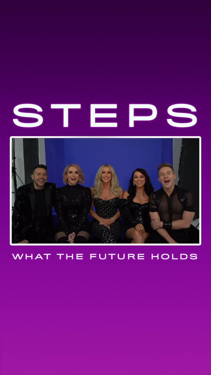 You don't need a crystal ball to know #WhatTheFutureHolds, you just have to ask @OfficialSteps 🔮