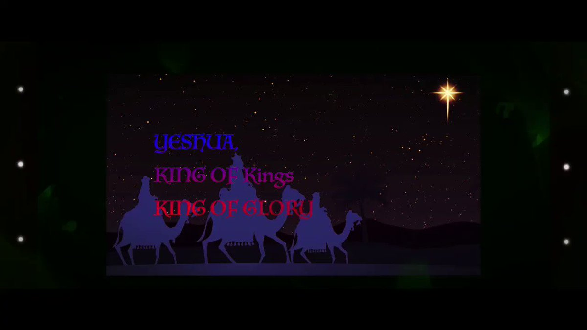 🎈🎆🎉🎊 🌟🌟🌟🕊From the new Cinematic Christmas track :Yeshua KING of kings KING OF GLORY  @ChristMusicBlog @RedLetterXians @TheFellowship @ChristMusicBlog @ChristianSocAct @Word4Christians #ChristTheKing #Christian_music #Christians