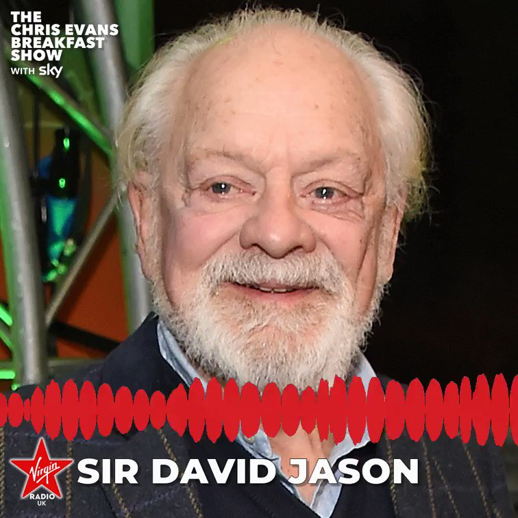 TV icon Sir David Jason's third memoir and number one bestseller A Del of a Life is available to buy now 💯 #ChrisEvansBreakfastShow #ADelOfALife