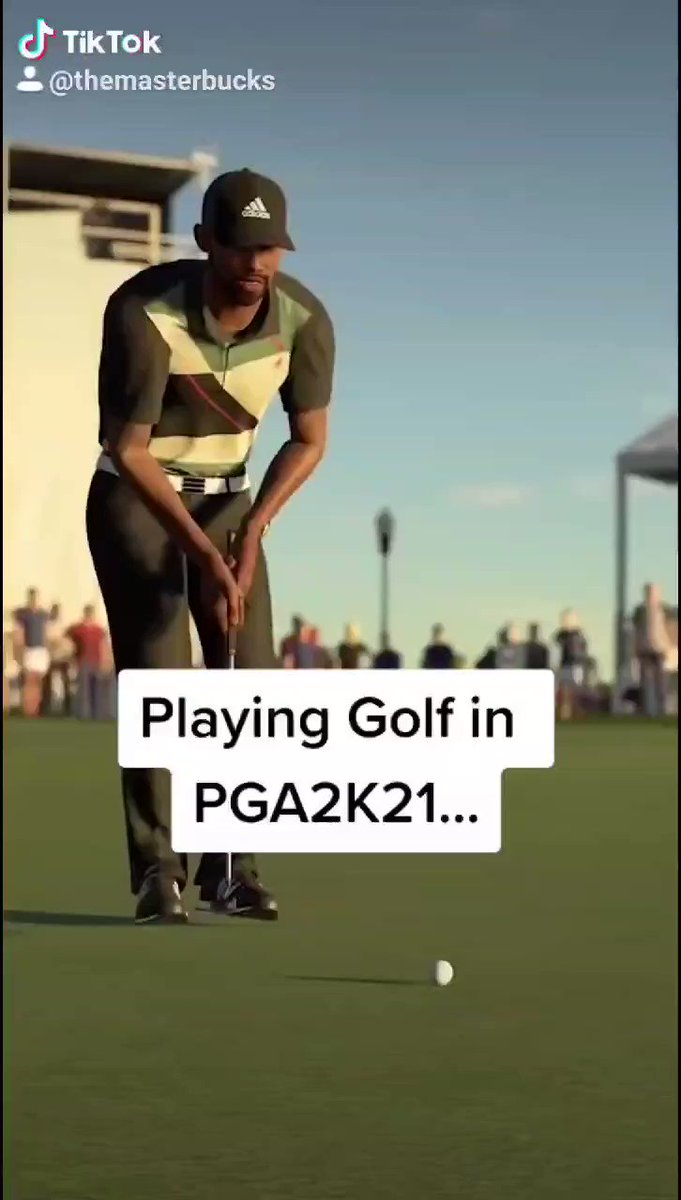 TheMasterBucks - What playing golf in video games is like vs real life.....    #PGATour2K21 @PGATOUR2K21 @2K_ANZ #ad
