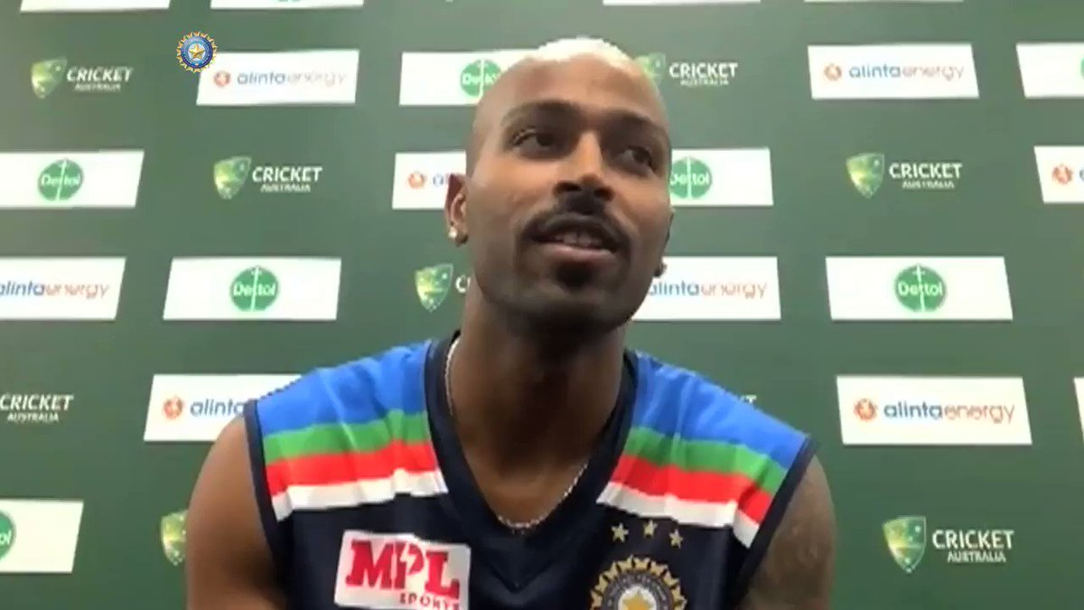 """""""The change has come for better.""""  @hardikpandya7 on how fatherhood has changed him as a person.  #TeamIndia 