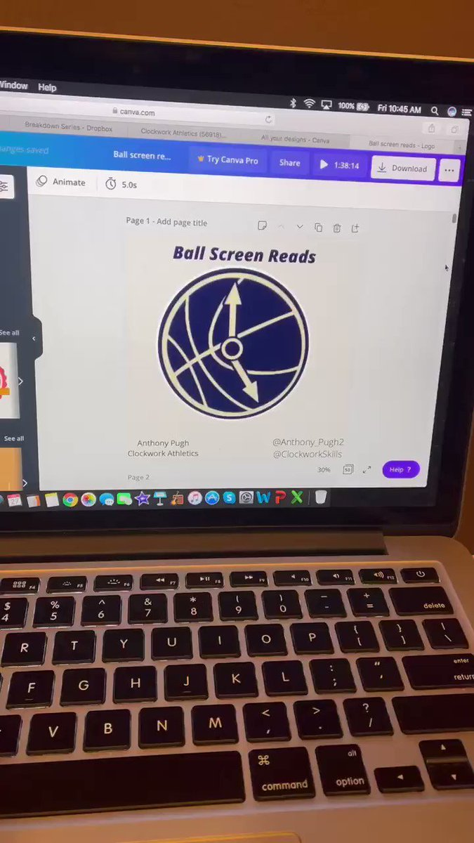"Black Friday SALE! Ball screen reads is 50% off with the code ""BLACKFRIDAY"" (Only $10!) Must have for every coach, trainer, player & basketball junkie that wants to learn more about the Pick & Roll Diagrams, film breakdowns and more!! Get it here⬇️ clockwork-athletics.com/store/ball-scr…"