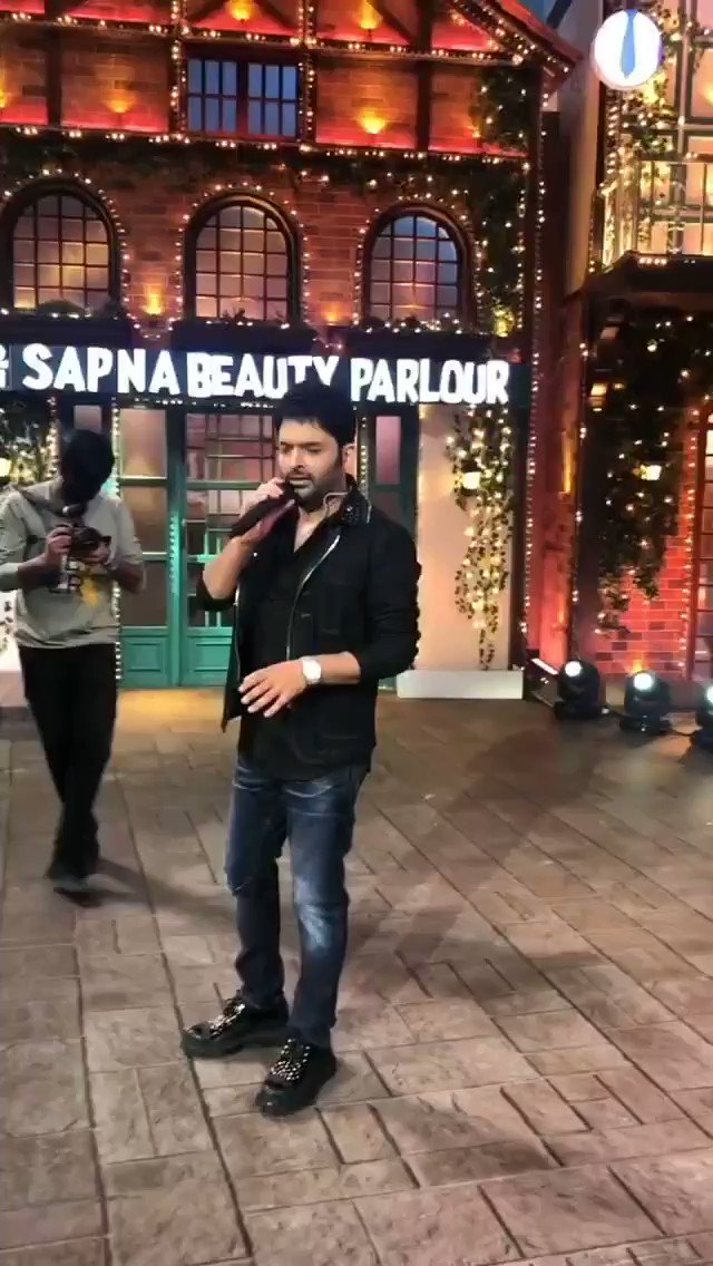 Replying to @KapilFans: 'Tum Jo Mil Gye Ho' in @KapilSharmaK9 's voice.  #TheKapilSharmaShow