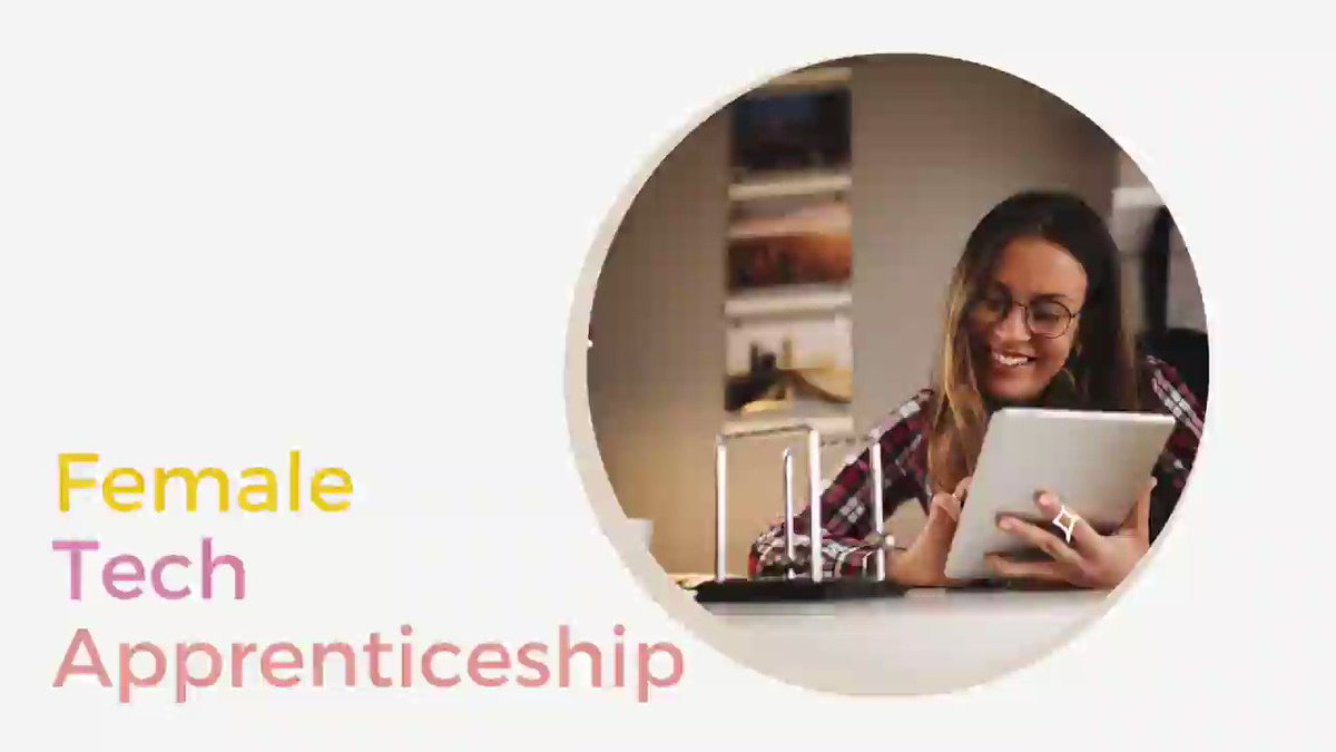 🙋‍♀️FEMALE #TECHAPPRENTICESHIP🙋‍♀️ STARTS SOON - APPLY NOW Join an exciting 2yr programme aimed at helping women gain #techskills & qualifications & start a successful ICT career. We're looking for driven women to join! https://t.co/Pmibq2q2h4 @ETBIreland @SOLASFET @apprenticesIrl