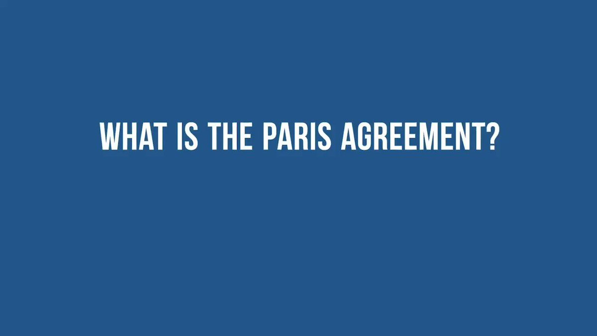 The #ParisAgreement is an international treaty on the climate emergency which aims to limit global warming and help build resilience to protect people and planet.   More from @UNFCCC:  #ClimateAction
