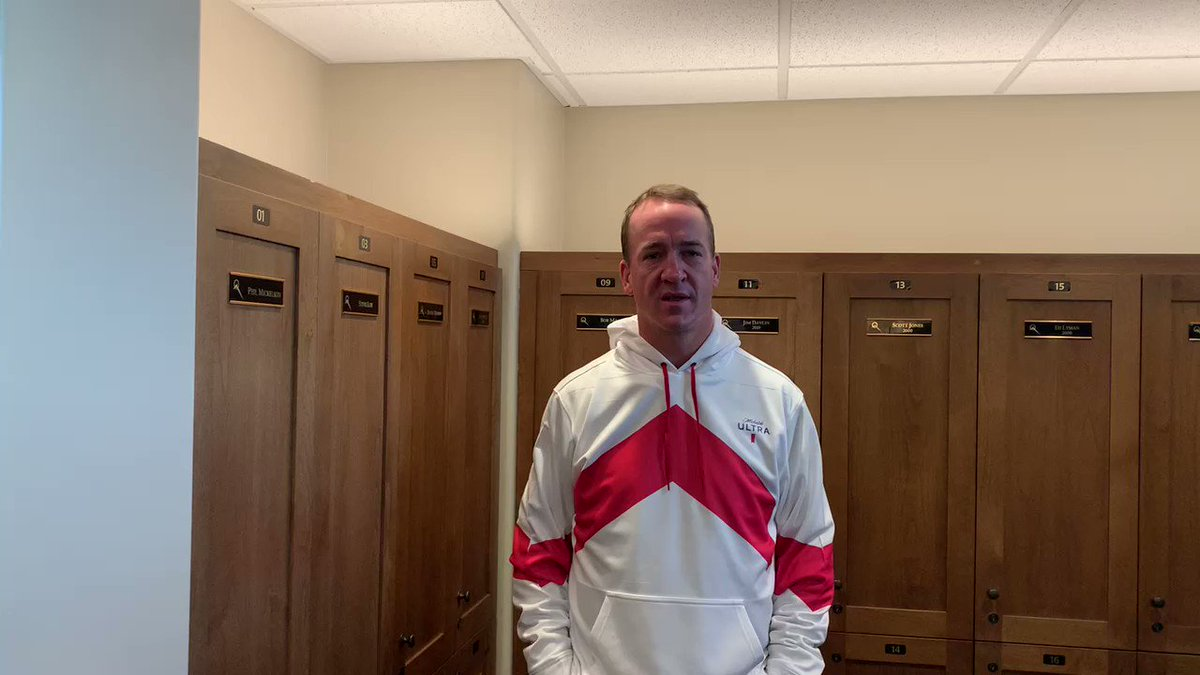 A message from The Sheriff looking fresh in an ULTRA #ProHoodie ahead of #TheMatch.  Follow us and tweet #ULTRAGiftofGolf and #Sweepstakes to win Peyton's golf hoodie, a custom ULTRA golf cart and more.