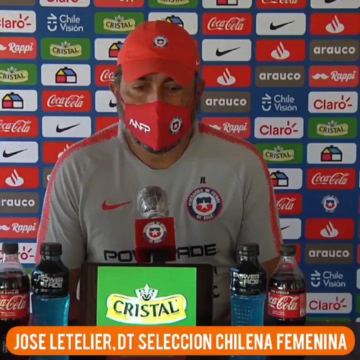 #FrasesRD 🗣 | El DT de #LaRojaFemenina 🇨🇱, José Letelier, se refirió a la nominación a los #TheBest de Christiane Endler y a su influencia en el equipo