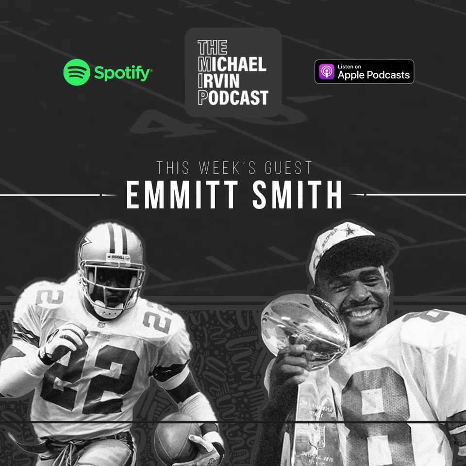 I spoke with my good friend and teammate @EmmittSmith22 on the MIP podcast about the big games and great days we had on Thanksgiving with the @dallascowboys Link in bio!