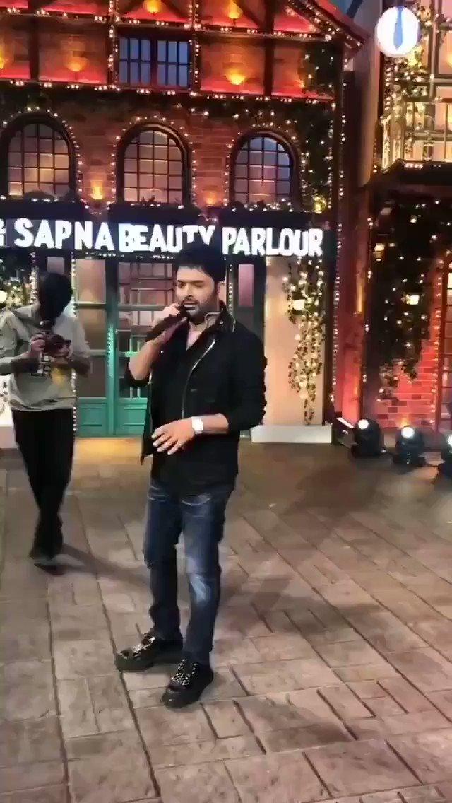 Tum Jo mil gaye ho  #Hearttouchingvoice ♥️😘😍 @KapilSharmaK9 paaji  Rocking♥️ #KapilSharma #tkss #singing #thekapilsharmashow