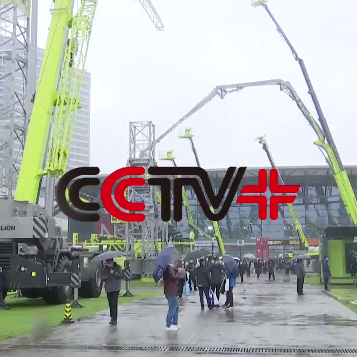 Cutting-edge #constructionequipment highlighted at #baumaCHINA2020. #China #Shanghai