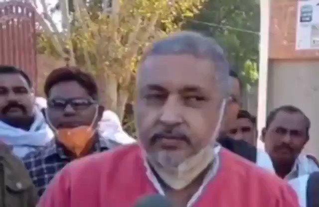 """@RahulGandhi योगी के मंत्री अनिल शर्मा बोले- """"किसान नहीं, गुंडे कर रहे प्रदर्शन""""...   #UttarPradesh #किसान_आंदोलन"""
