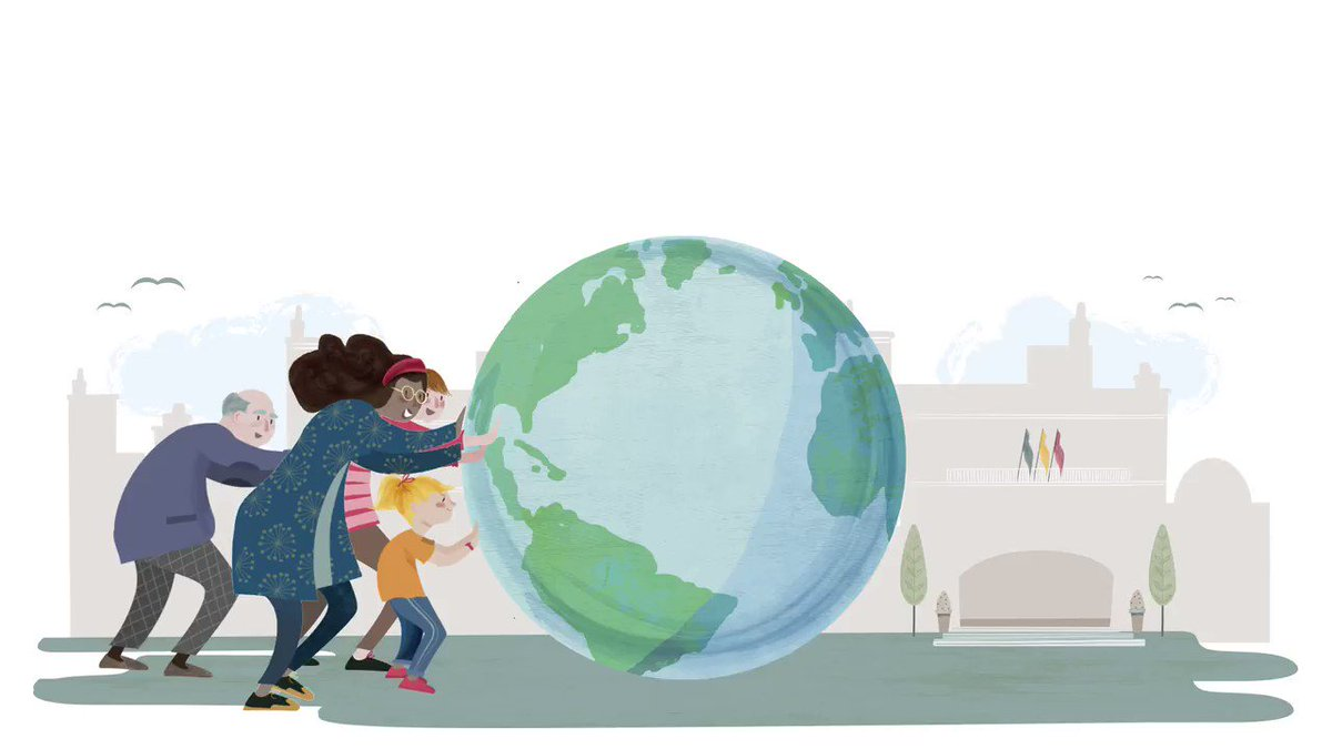 Image for the Tweet beginning: 🌎En la #CiudadEducadora, la #educación