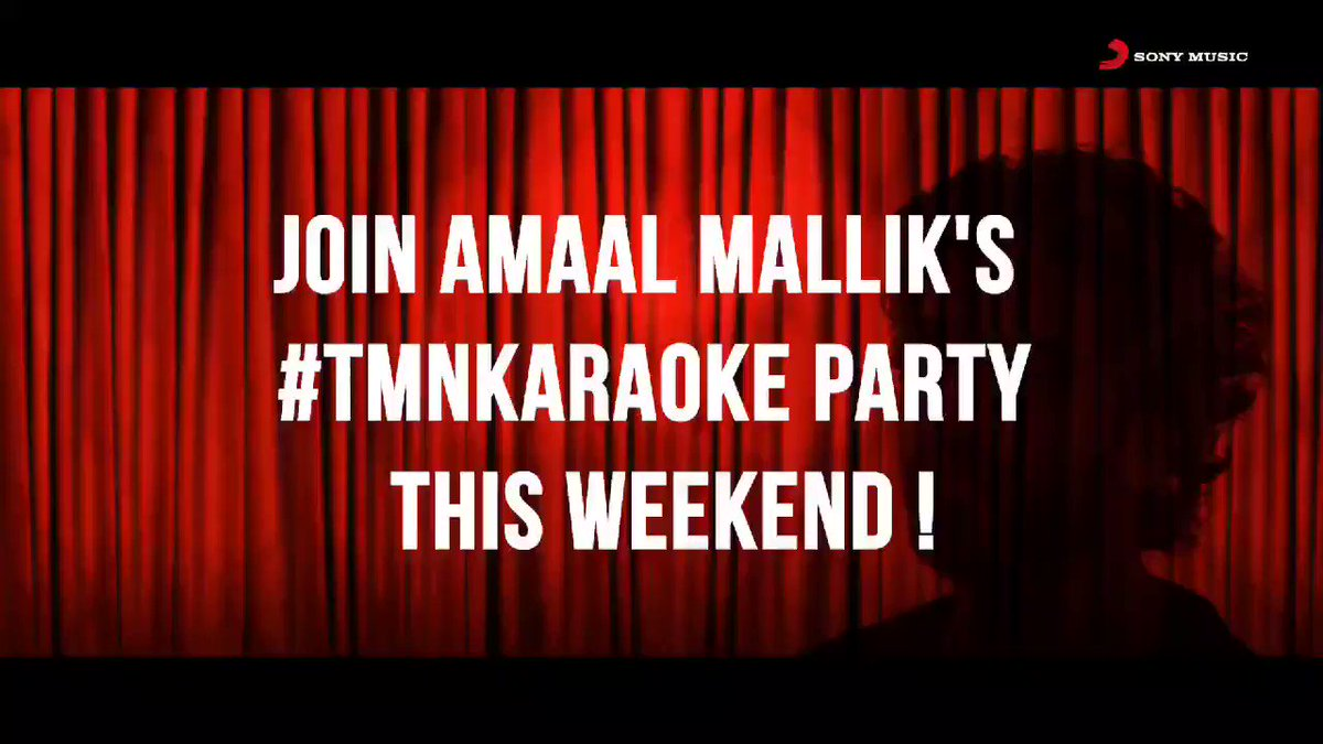 #Amaalians, participate in the #TMNKaraoke contest. The best will be featured on @sonymusicindia and @AmaalMallik's page!   Steps:  1) Record a video of you singing #TMN with the karaoke track  2) Upload it using #TMNKaraoke and tag us 3) Contest ends Dec 1  #contest #TMNByAmaal
