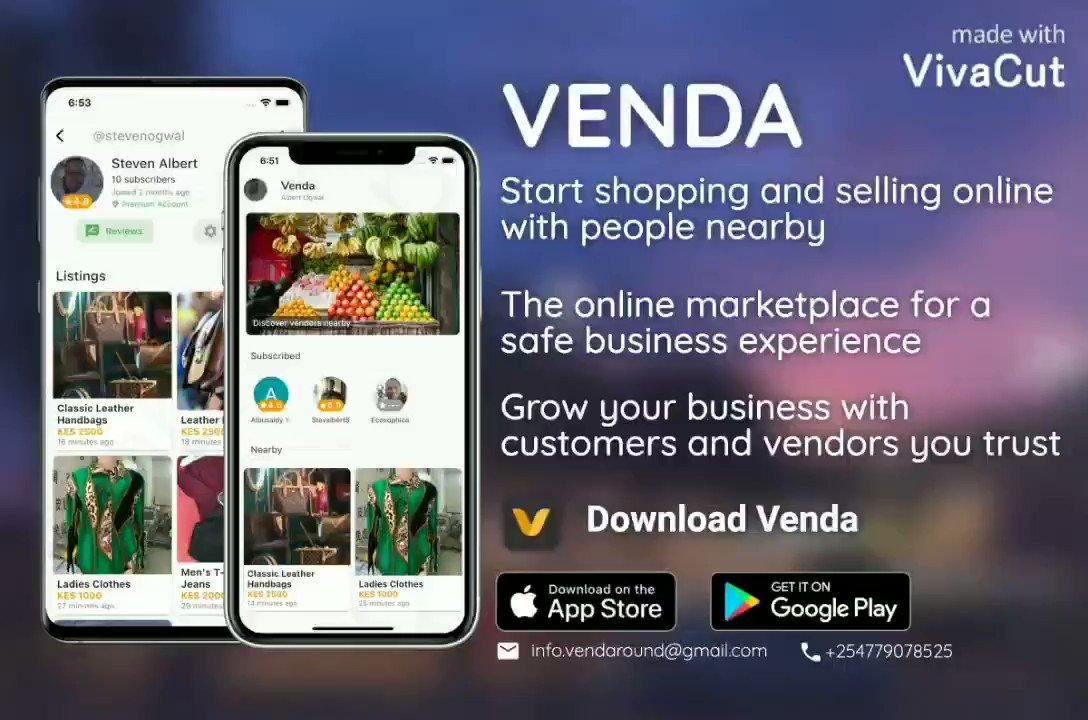 What you need is always nearby. Try Venda. #SaturdayThoughts #BetterTogether #Christmas #WhatsApp #venda #MondayMorning #MondayMotivation