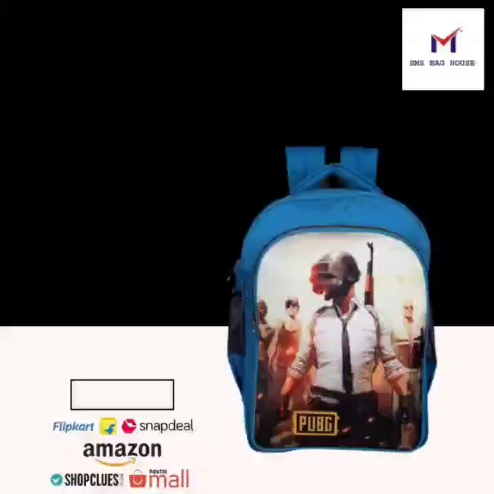 🎒SMS BAG HOUSE PUBG Waterproof School BAG 40 L Laptop Backpack    🔗Buy now on Amazon:   🔗Buy now on Flipkart:   #smsbaghouse #TheBigBillionDays #SwagSafeTravels #diwalisale #Amazon #MyAtMyStyle #onlinesale