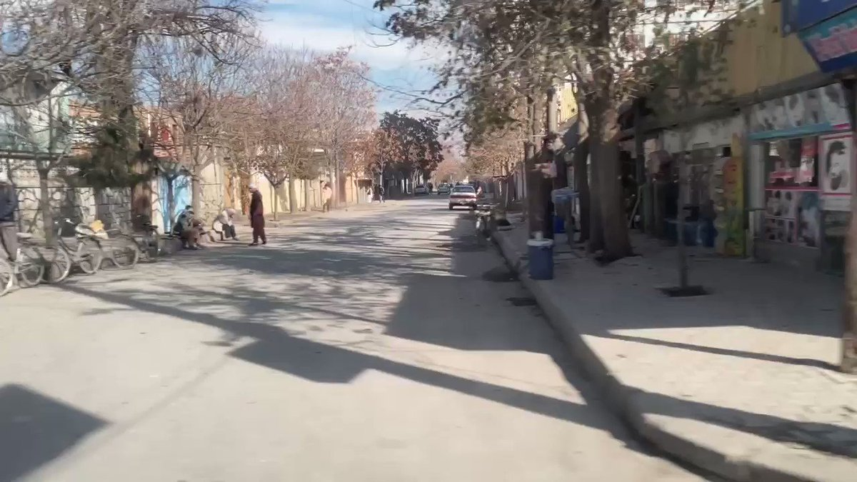 A quiet and peaceful Saturday morning in #Kabul #Afghanistan . It should and could be always like this.