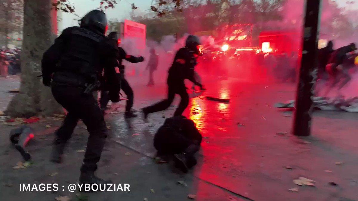 Damn it's ridiculously violent in Paris. https://t.co/KKFDmntBDt