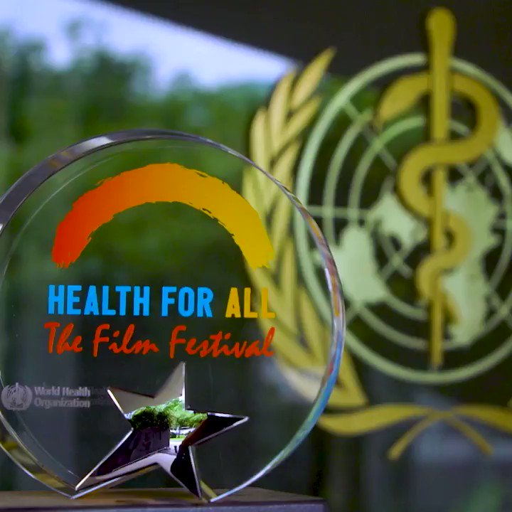 We want YOU!  Calling all students, film schools, health workers, NGOs, communities & filmmakers to submit their #Film4health short film 🎞️ to the #HealthForAll Film Festival until 30 January 2021.   🎥