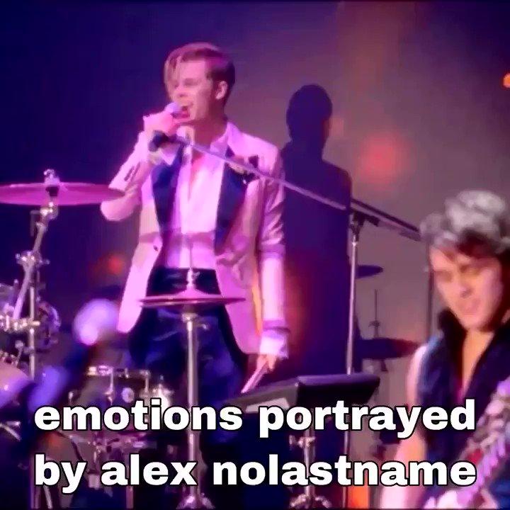 emotions portrayed by alex mercer
