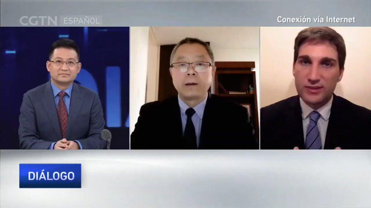 El director del Observatorio, @patriciogiusto, fue invitado por @cgtnenespanol para analizar la reciente #G20RiyadhSummit, incluyendo la participación de #China 🇨🇳 y #Argentina 🇦🇷  Entrevista completa ⬇️