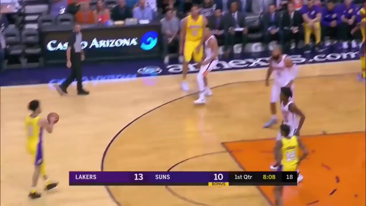Remember when Lonzo Ball dropped 29 PTS - 11 REB - 9 AST in his 2nd career game? 🔥 Fro Zo https://t.co/Jaz7seE4Uw