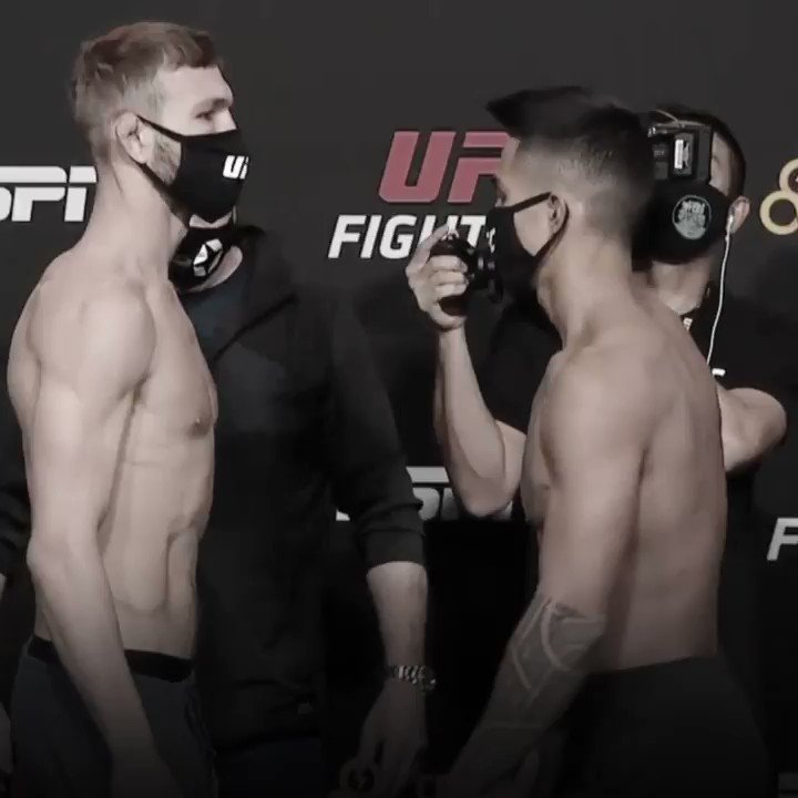 Featherweight action set to kick off the #UFCVegas15 main card  @JSPMMA vs @KaiBoiKamaka  📺 Tune in NOW on ESPNews and ESPN+ https://t.co/RsfQH0tkKK