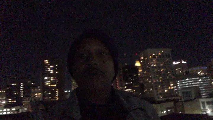Full moon 🌕 for the shoot. @muddyjonez @KarizMarcel Don't act like it ain't get brisk up here🥶 😆   #videoshoot #videooftheday #hiphop #baltimorehiphop #ice #muddyjonez #kodestreet #globalwarz #rap https://t.co/G6f8NcVu0u