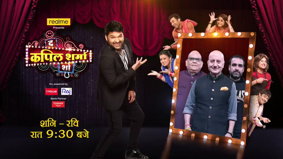 यह नहीं देखा तो क्या देखा 🤩 @AnupamPKher @satishkaushik2 @TripathiiPankaj what a beautiful episode 👏👏👏 pls do watch tonight 🙏 #tkss #thekapilsharmashow only on @SonyTV