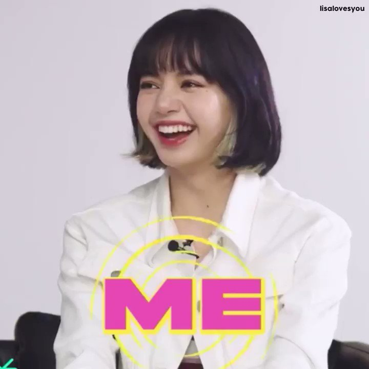 a compilation of #LISA laughing throughout today's interview