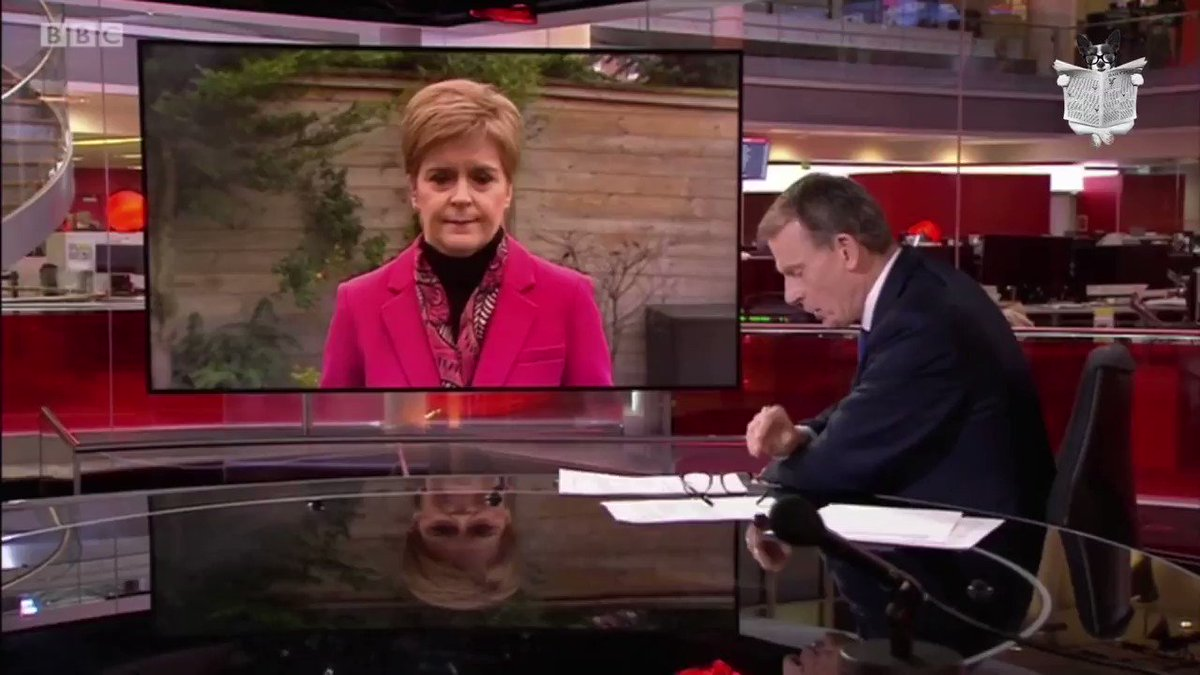"@Douglas4Moray Nicola Sturgeon caught lying to Andrew #Marr about the Alex Salmond case.  ""You said the first you knew was in April 2018, but you've given written submission to the enquiry saying that you knew in November 2017""  BUSTED!"