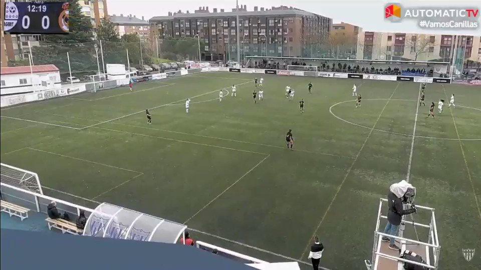 Gol del @CDMagerit que se aprovecha de un despiste en defensa para hacer el 1-0.   #HalaMadrid | #RMCity