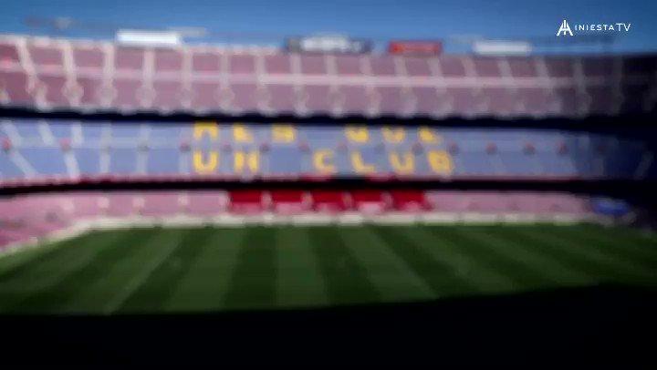 Una persona muy importante en mi vida que me ayudó mucho cuando llegué a Barcelona. Gracias por todo @AlbertBenaiges, siempre en mi equipo ❤️💙 #IniestaTV @RakutenSports