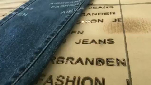 Manufacturers on our vendor list do laser printing on jeans 🔥We offer a clothing line starter kit that includes a list of manufacturers you can use to bring your clothing line to life! DM or Call 724-777-0025 for our starter kit. Our services do cost (30% off today)
