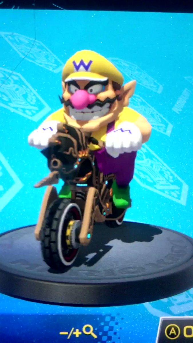 #Geek 🤓 Awesome of the Day ⭐ ➡️ #Wario #Steampunk ⚙️ #Unicorn 🦄 #Bike 🏍️ in #MarioKart #Videogame By #Nintendo via @SandyforCouncil #SamaGames 🕹️ #SamaGeek 🧐 #SamaBikes ➡️ View More Selections 👉 https://t.co/Mfbzio7ybC