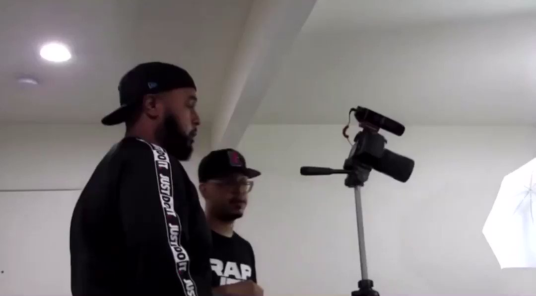 Vlog up now youtu.be/ORXp2mVOvT8 feat. @obj & @BevTyme