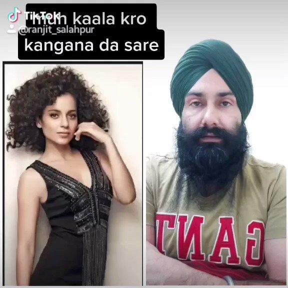 #KanganaRanaut shame on you #bollywoodactress #punjabifarmers