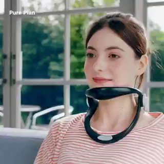 Image for the Tweet beginning: This brace prevents tech neck.