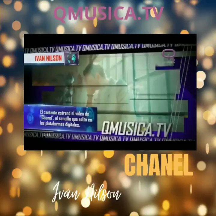 #chanel en @quieromusicatv . Gracias 🎶