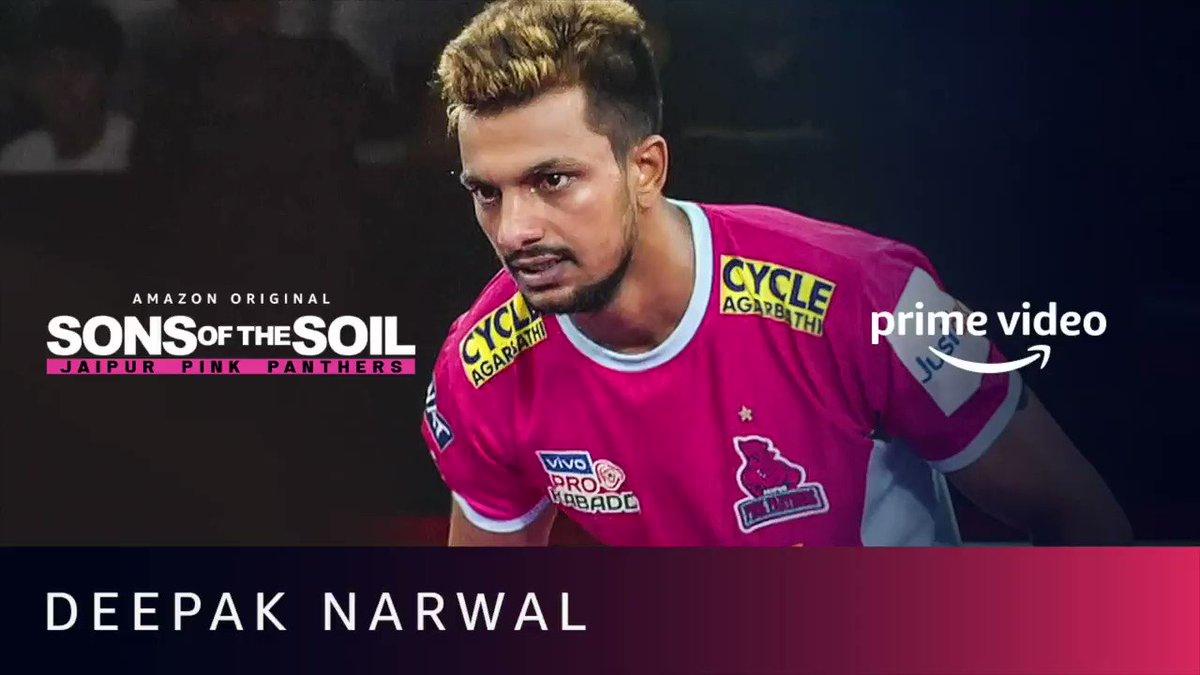 Meet the champion who's got the gift of Kabaddi.  #SonsOfTheSoil, New Series, December 4.  #DeepakNarwal @juniorbachchan @JaipurPanthers