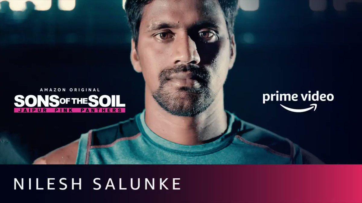 He's calm, and also a storm. Meet #NileshSalunke.  #SonsOfTheSoil, New Series, December 4.  @juniorbachchan @JaipurPanthers