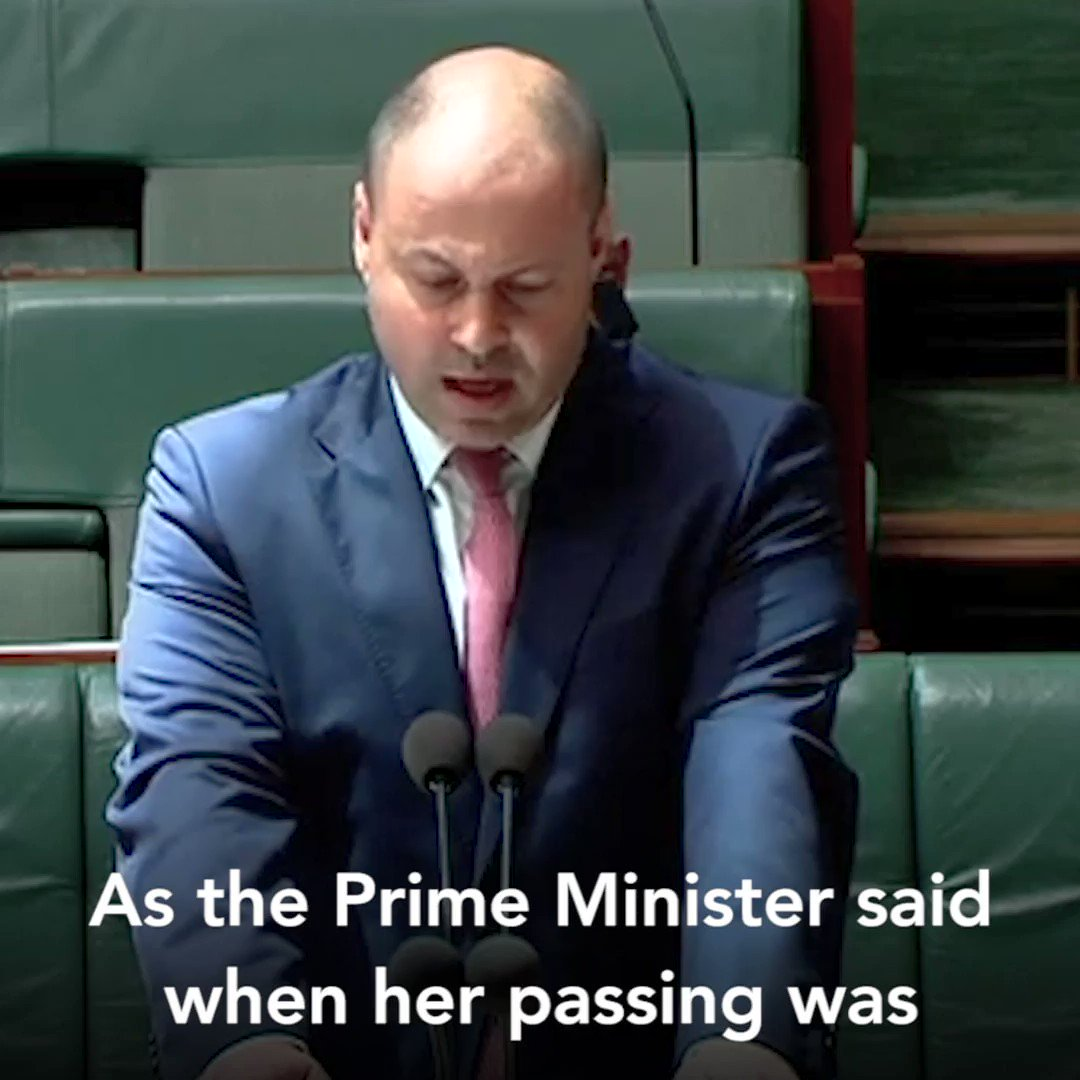 Dame Margaret Guilfoyle was a great Australian & the first woman in cabinet with a ministerial portfolio. Today I paid my respects in a condolence motion in the House. May she Rest In Peace. My full speech➡️bit.ly/2HU4gBg